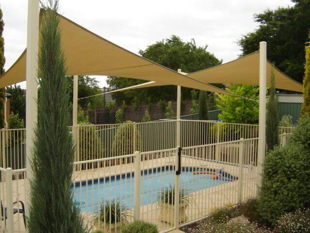 shade sail -  shade sail -  protection