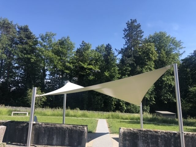 shade sail -   uv -  sun